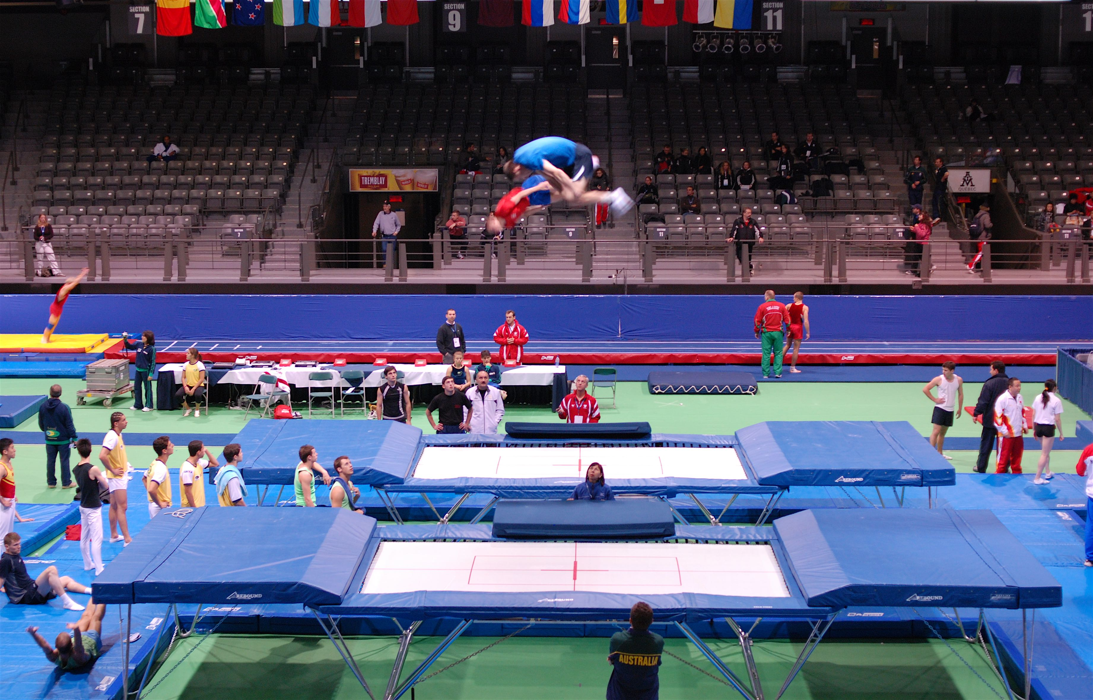 Beds 7x14 - at Worlds 2007 training day